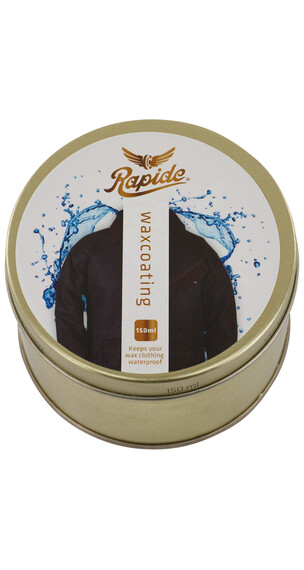 Rapide Wax onderhoud pot 150 ml goud